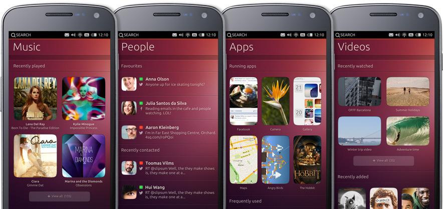 Ubuntu mobile OS ανακοινώθηκε από την Canonical.